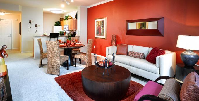 Jefferson at Marina Del Rey interior living area