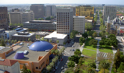 San Jose City downtown view during daytime