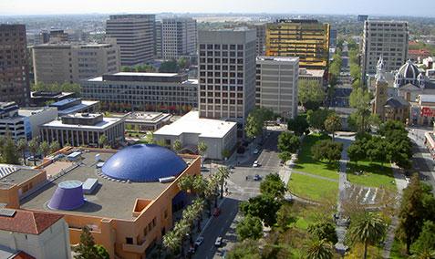 San Jose City downtown view during daytime