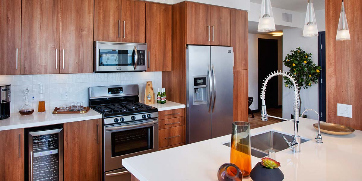 Broadstone Little Italy Unit Kitchen 2