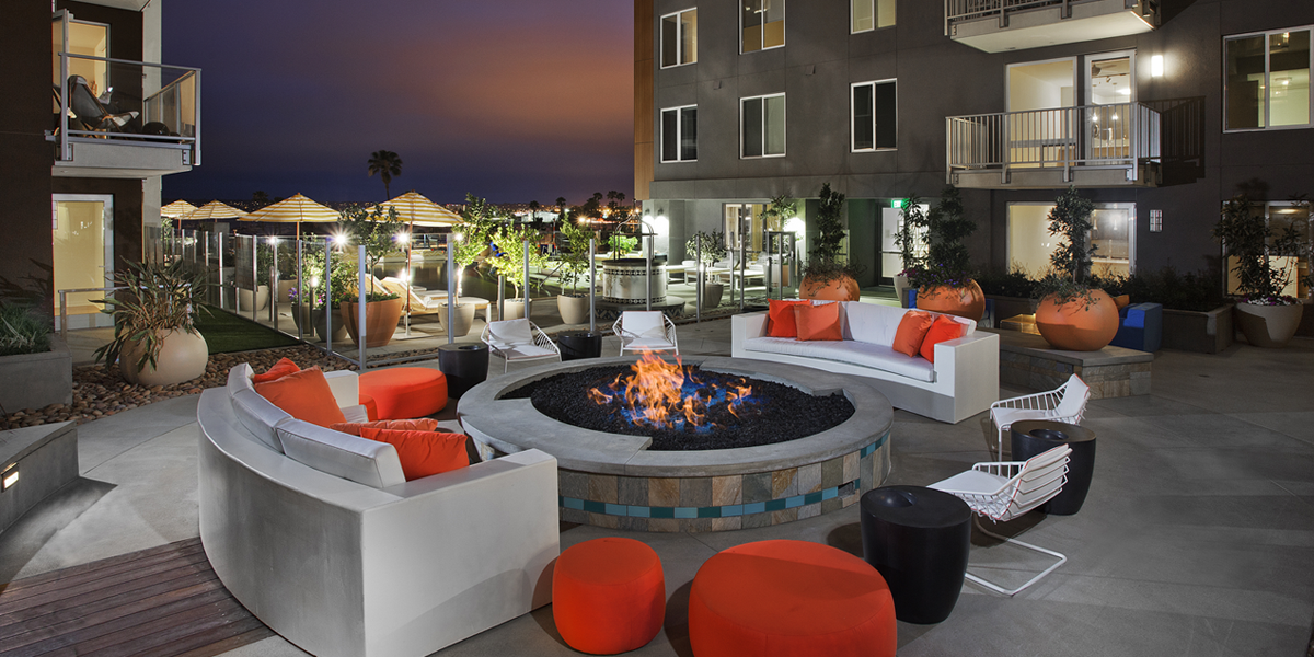 Broadstone Little Italy firepit
