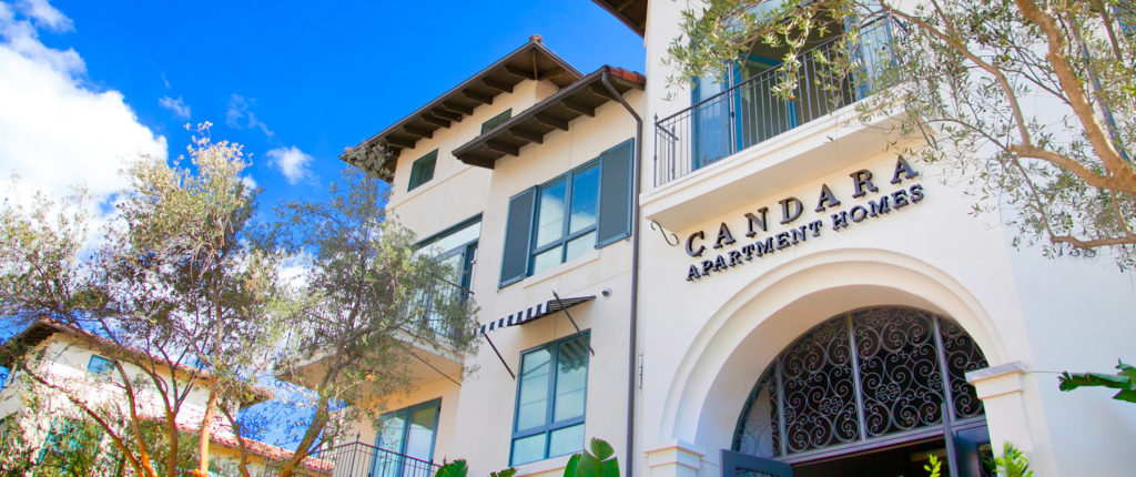 Candara Apartment Homes Exterior Sign
