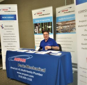 AMPAM Recruiter Alan Elmont at Cal State Career Day